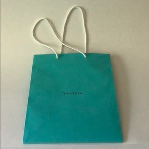 "Tiffany & Co. Party Supplies - Tiffany Gift Bag 9.5"" x 4"""